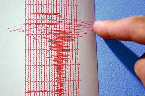 El último de los sismos se registró a las 11.05 locales  y tuvo una intensidad de 4.9 grados magnitud. (Internet).