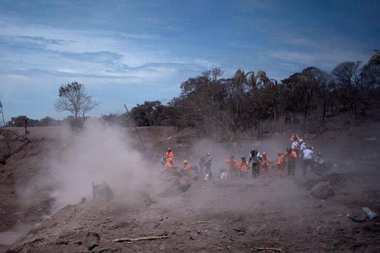 La Cancillería de Guatemala solicitó hoy ayuda internacional, después de transcurridas más de 96 horas de la fuerte erupción del Volcán de Fuego. (Foto Prensa Libre: Hemeroteca PL)<br /> <br />