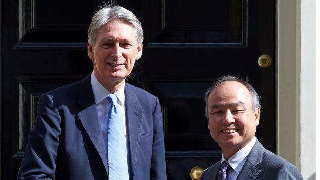 El gobierno británico celebró la adquisición de AMR por parte de Softbank. GETTY IMAGES