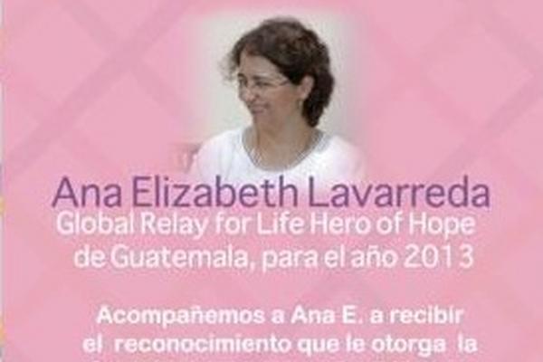 Ana Elizabeth Lavarreda. (Foto Prensa Libre: Tomada de FB)