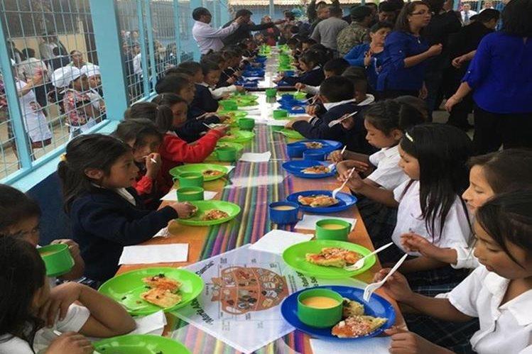 En San Marcos se implementó un plan piloto de la FAO con alimentos locales, y ahora se espera hacerlo en Quiché. (Foto Prensa Libre: Héctor Cordero).