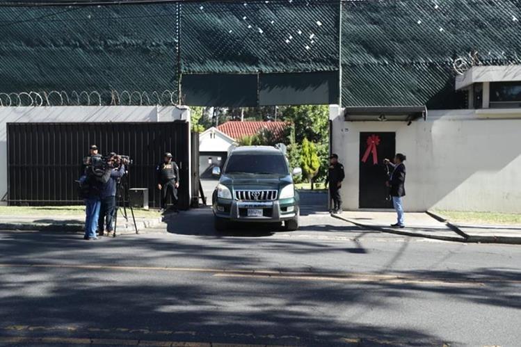 La notificación sobre las 72 horas para que el personal abandone el país llegó a la Cicig a mediodía. (Foto Prensa Libre: Esbin García)