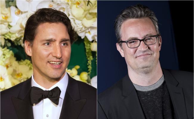 Justin Trudeau y Matthew Perry estuvieron implicados en una pelea, cuando ambos asistieron a la misma escuela primaria en Canadá (Foto Prensa Libre: Hemeroteca PL)