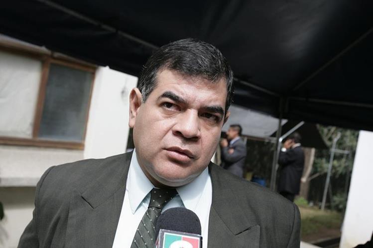 Ronny López, jefe de la Fiscalía contra el Crimen Organizado. (Foto Prensa Libre: HemerotecaPL)