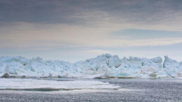 Durante la Última Edad de Hielo se formó un puente en el Estrecho de Bering. ALAMY