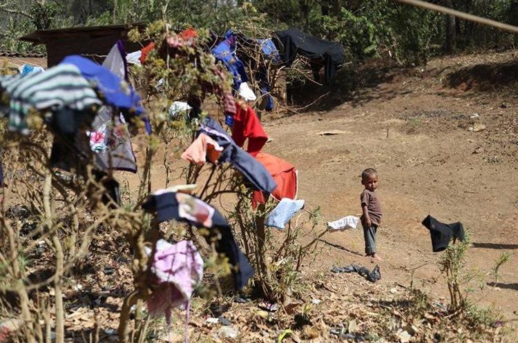 Comunidades de Jutiapa viven alejadas y sin oportunidades de poder afrontar la falta de lluvia. (Foto Prensa Libre: Hemeroteca PL)