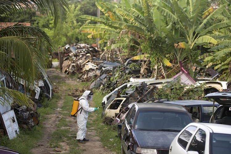 Parte de los fondos se utilizarán para inmplementar planes contra el mosquito. (Foto Prensa Libre: AP)