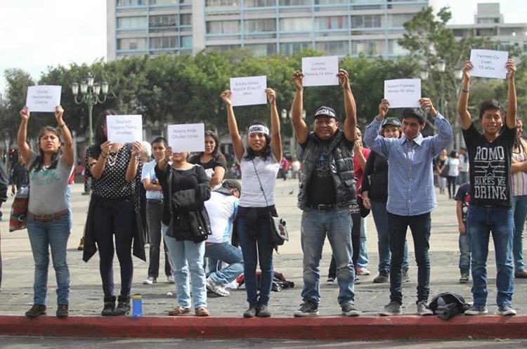 Justicia es lo que exigió la población en la Plaza de la Constitución