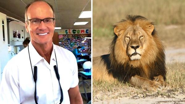<em>Walter Palmer el dentista que mató al león Cecil. (Foto: Twitter/@omegastereo1073) </em>