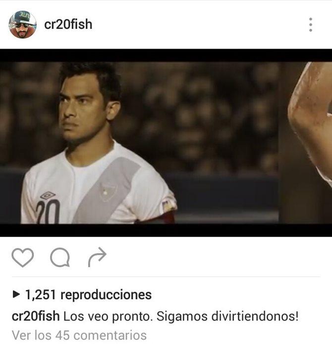 Carlos Humberto Ruiz utilizó su cuenta en Instagram para anunciar que continuará con su carrera futbolística (Foto Prensa Libre: tomada de internet)