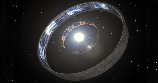 La esfera de Dyson es una idea desarrollada por el gran físico Freeman Dyson en 1960. A la búsqueda de un medio para localizar civilizaciones extraterrestres muy avanzadas y hambrientas de energía, especula que serían capaces de construir una esfera que rodee su estrella para absorberla. (Foto: fayerwayer.com).
