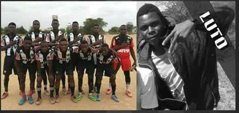 El futbolista Estevao Alberto Gino murió atacado por un cocodrilo en Mozambique. (Foto Prensa Libre: Facebook Clube Atlético Mineiro de TETE)