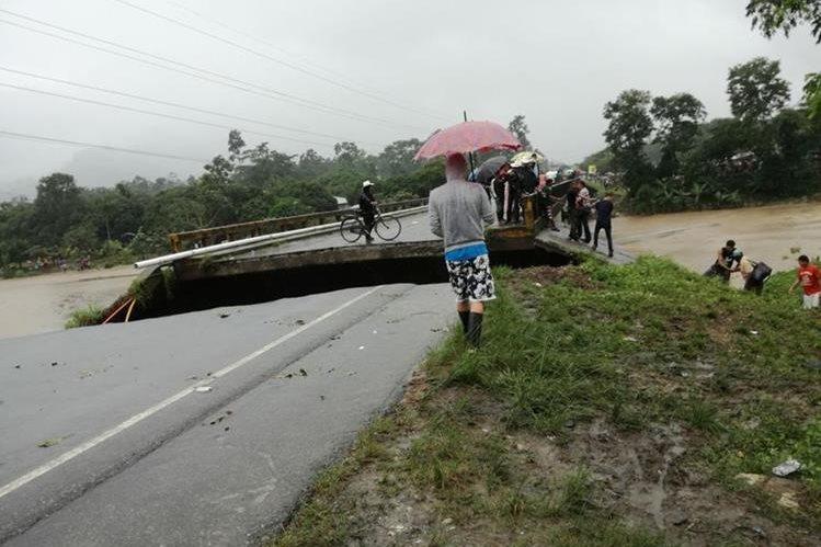 El tránsito de Guatemala y Honduras estará detenido por el corte de la ruta. (Foto Prensa Libre: Cortesía)