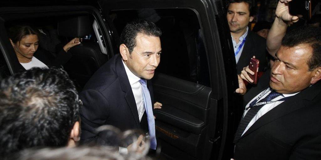 Jimmy Morales gana la Presidencia al primer intento