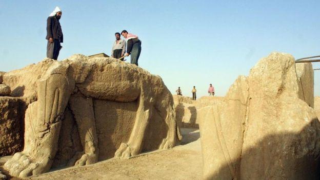 El 80% de Nimrud quedó destruido. GETTY IMAGES
