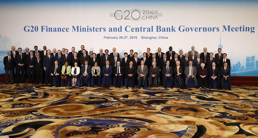 Ministros de Comercio del G20 en Shanghái. (Foto PL: alleyoop.ilsole24ore.com)