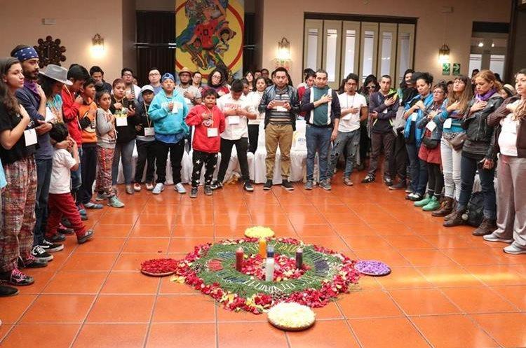 Este jueves se inauguró el Congreso Mesoamericano de Cultura Viva Comunitaria en hotel de la zona 1 de Quetzaltenango. (Foto Prensa Libre: Raúl Juárez)