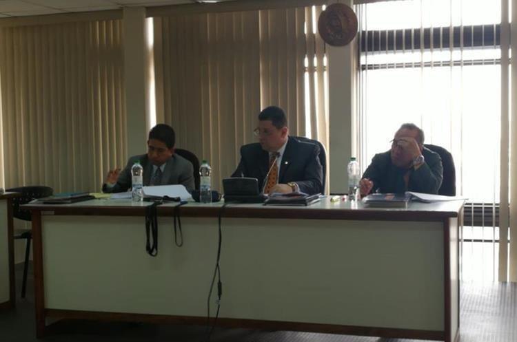 El Tribunal Tercero de Sentencia Penal lleva el caso. (Foto Prensa Libre: Javier Lainfiesta)