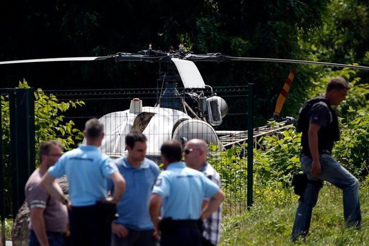 Cómo peligroso reo escapa de prisión en helicóptero en pocos minutos