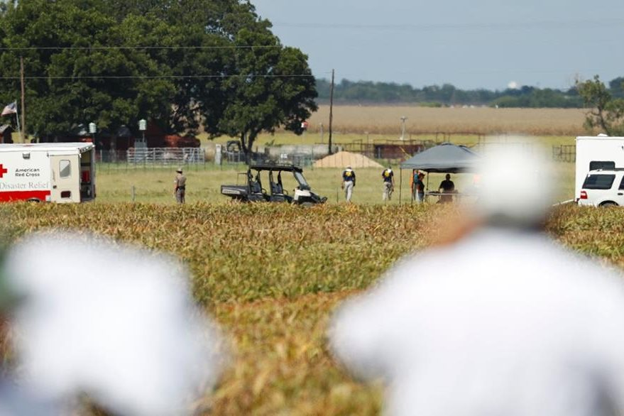 El área donde ocurrió la tragedia es mayoritariamente agrícola. (Foto Prensa Libre: AFP).