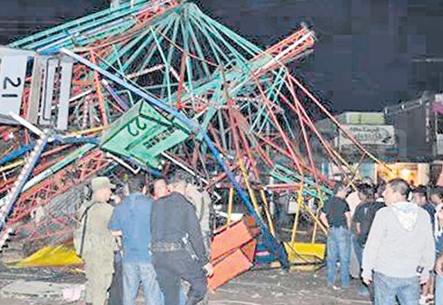 La falta de mantenimiento e inspección de los juegos mecánicos ha provocado tragedias. (Foto: elQuetzalteco)