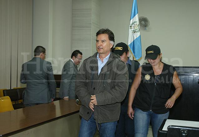 Portillo luego de su captura en Punta de Palma Izabal en 2010.  (Foto: Hemeroteca PL)