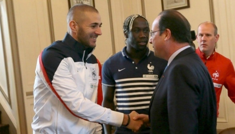 Karim Benzema cuenta con el apoyo del presidente de Francia, Franois Hollande. (Foto Prensa Libre: Récord)
