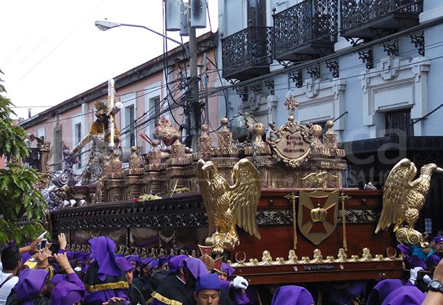 Anda en estilo romano de Jesús de los Milagros del Santuario de San José. (Foto: Néstor Galicia)