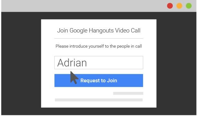 Ahora Hangouts permitirá que usuarios sin cuenta de Gmail puedan utilizar esta plataforma. (foto Prensa Libre: Tomada de Google).