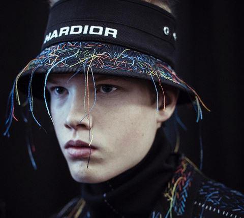Dior ofrece una pasarela dedicada al mundo masculino de la moda. (Foto Instagram: Dior)