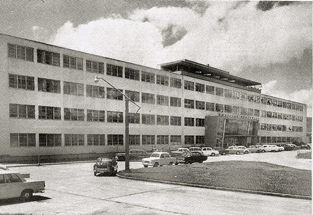 El hospital Roosevelt se proyectó como uno de los logros de la Revolución de 1944, actualmente aún funciona. (Foto: Hemeroteca PL)