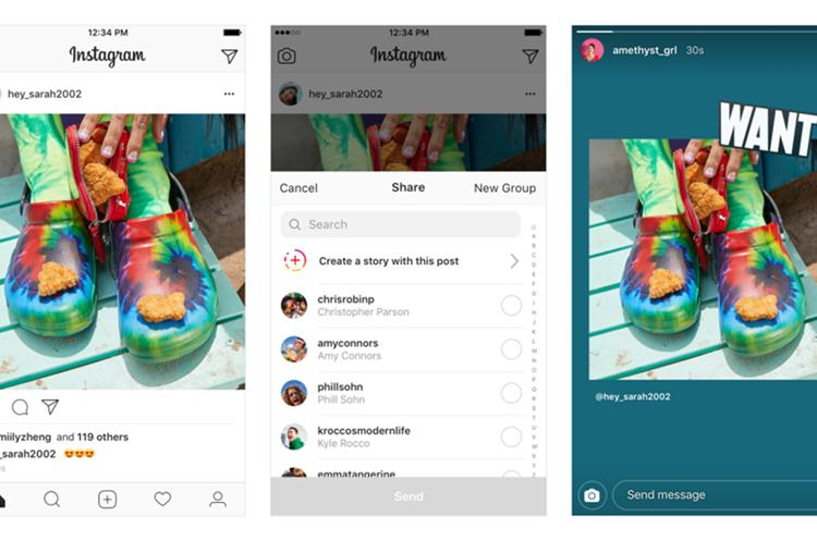 Instagram mejoró la interacción en sus historias (Foto Prensa Libre: Instagram News).