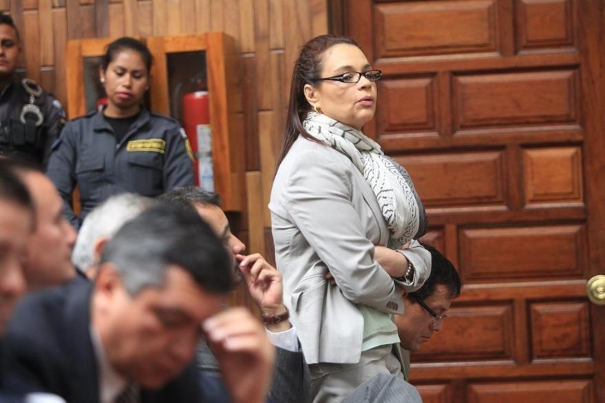 La ex vicepresidente Ingrid Roxana Baldetti Elías, nació el 13 de mayo de 1952. Es licenciada en Ciencias de la Comunicación. (Foto Prensa Libre: Esbín García)