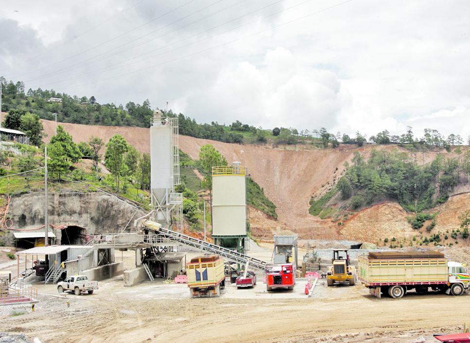 Las comisiones servirán para confirmar o descartar si la mina Marlin ha provocado daños en las comunidades aledañas.(Foto Prensa Libre: Hemeroteca PL)