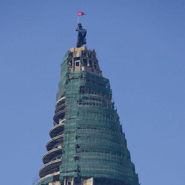 En 2008, una empresa egipcia reanudó su construcción. ERIC LAFFORGUE/GETTY IMAGES