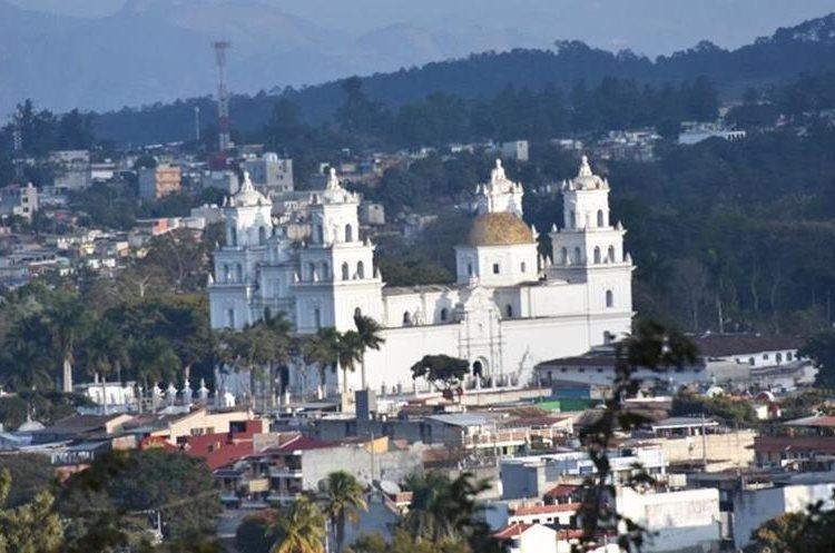 Basílica de Esquipulas, Chiquimula.(Prensa Libre: Mario Morales)