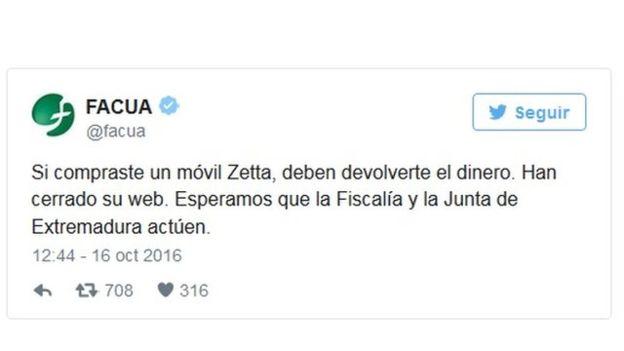 FACUA/TWITTER