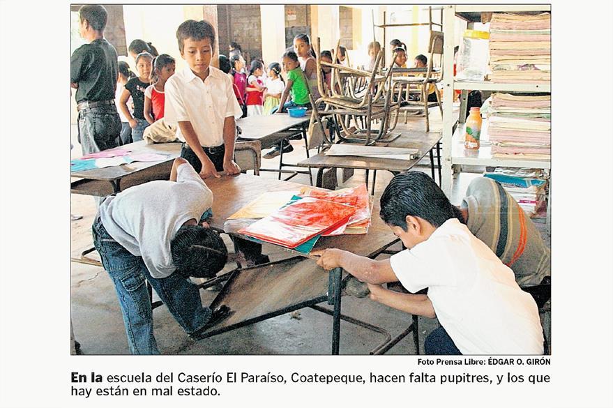 Caserío El Paraíso, Coatepeque, Quetzaltenango, en enero de 2009. (Foto: Hemeroteca PL)