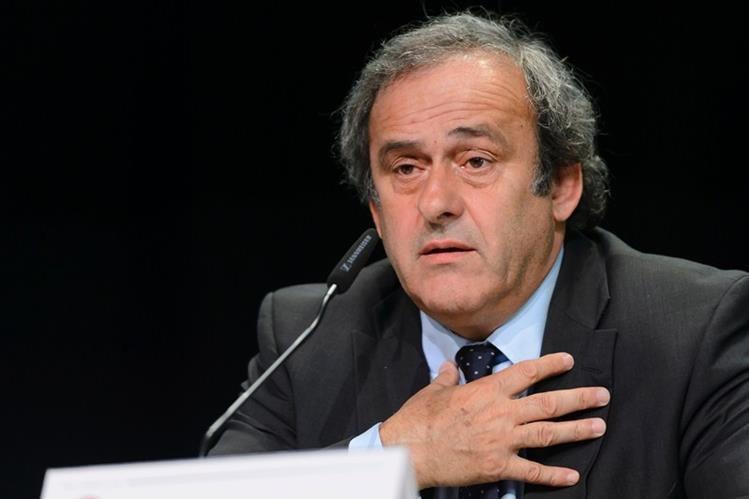 Platini se vio involucrado en casos de corrupción dentro de la FIFA este año. (Foto Prensa Libre: Hemeroteca)
