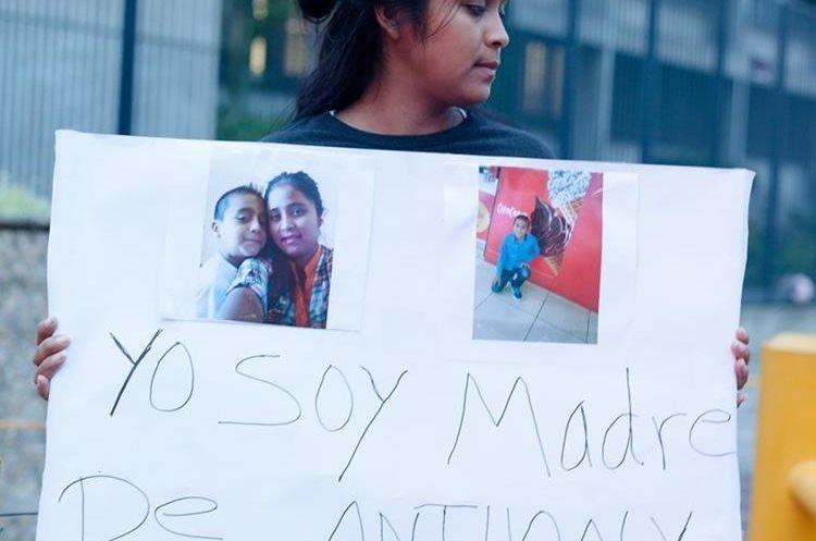 La guatemalteca ya encabezó una protesta en junio frente a la Embajada de Estados Unidos. (Foto: Hemeroteca PL)