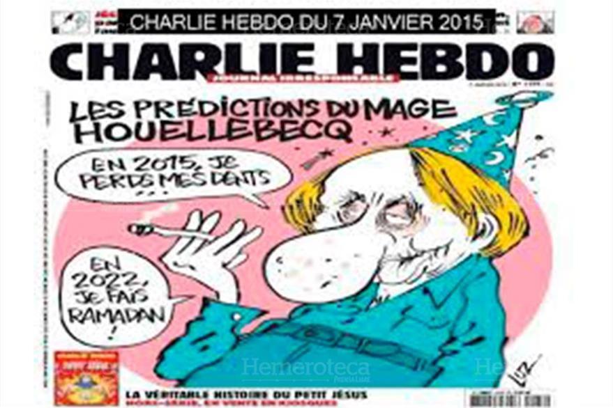 Una de las polémicas portada  de la revista Charlie Hebdo del 2015 la cual hace referencia a la religión de los musulmanes. (Foto: Hemeroteca PL)