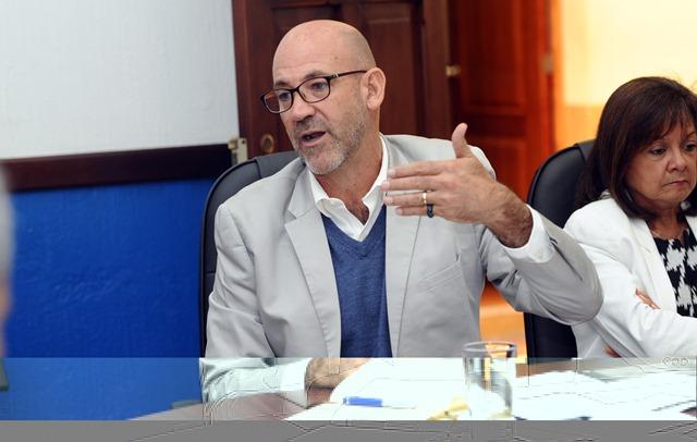 Gerardo Aguirre, presidente del COG, no da declaraciones. (Foto Prensa Libre: Hemeroteca)