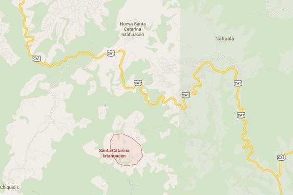 <p>Santa Catarina Ixtahuacán, Sololá. (Imagen: Google Maps)<br></p>