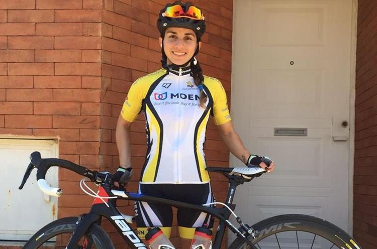 Aunque a María Fernanda pensó en ya no practicar el ciclismo, su pasión y amor por el deporte le hizo continuar. (Foto Prensa Libre: Cortesía María Fernanda Morales)
