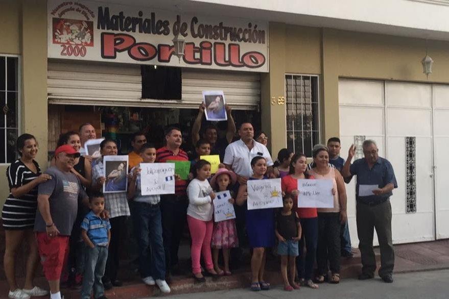 Los habitantes de Jalpatagua, en Jutiapa, están orgullosos de papel que ha realizado Virgina Argueta en el certamen de belleza. (Foto Prensa Libre: Cortesía Jennifer Lara)