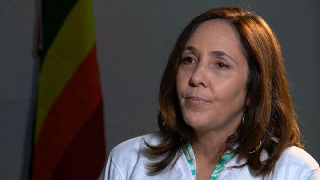 Mariela Castro es hija del presidente Raúl Castro y actualmente es directora del Centro Nacional de Educación Sexual de Cuba.