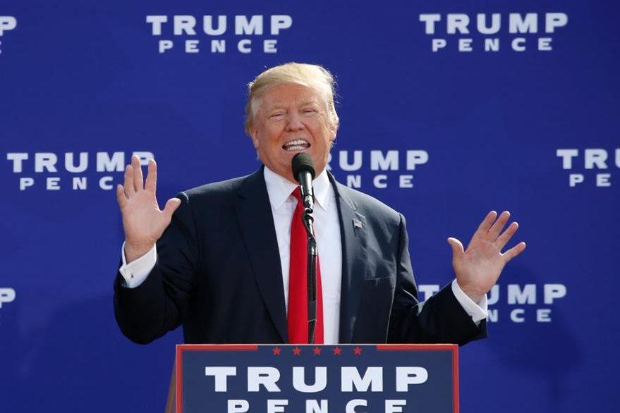 Donald Trump, candidato republicano. (AFP)