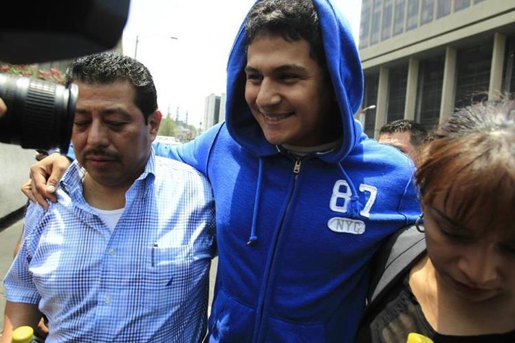 Jabes Meda Maldonado fue capturado el 29 de abril último, sindicado de haber arrollado a un grupo de estudiantes en la calzada San Juan. (Foto HemerotecaPL)
