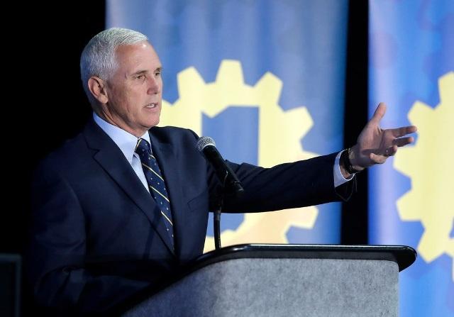 Mike Pence, vicepresidente de Estados Unidos. (Foto Prensa Libre: DPA)