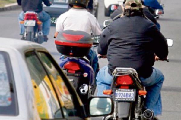 Unas 970 mil motos están registradas.